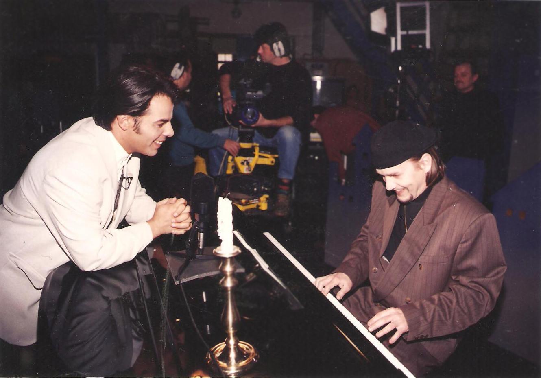 Gyertyafényben, MTV, 1996. Hang- és kamerapróba.