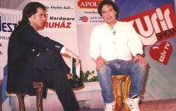 Kurír-show, Pesti Vígadó, 1993. Harle Tamás vendége: Laár András